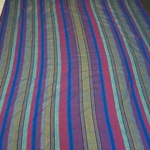 Multicolored Striped No brand blanket